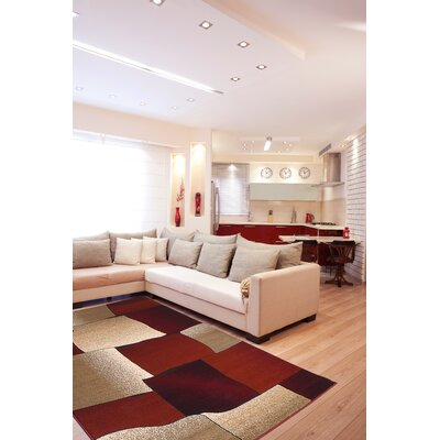 Segma Inc. Monaco Red Rug