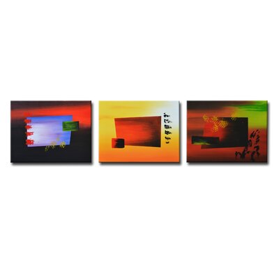 Segma Inc. Radiance Luma Canvas Art (Set of 3)