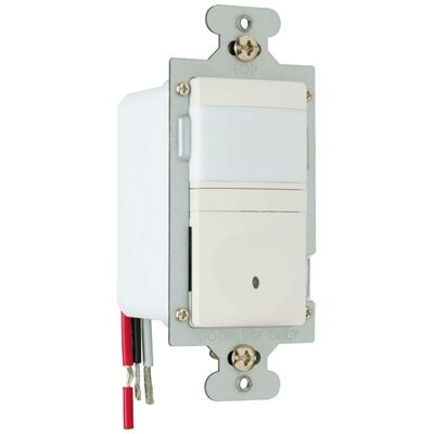 Legrand 600W Occupancy Decorator Sensor Single Pole in Light Almond