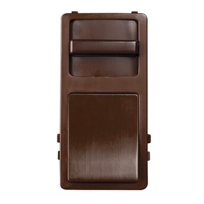 "Legrand 1.375"" Wide Slide Interchangeable Face Preset in Brown"