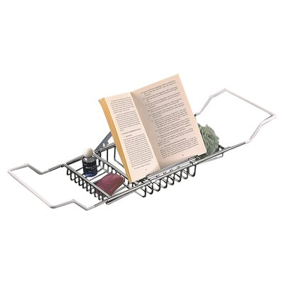 Taymor Industries Inc. Bathtub Caddy with Reading Rack