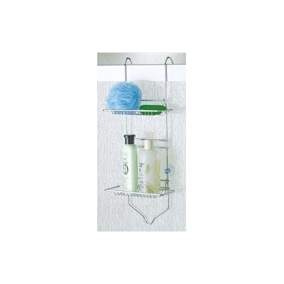 Taymor Industries Inc. Chrome Adjustable Shower Caddy with Small Baskets