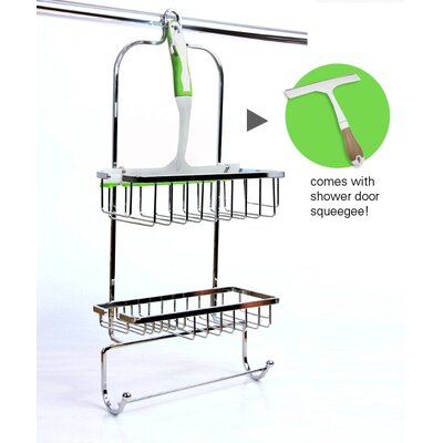 Taymor Industries Inc. Shower Caddy with Squeegee
