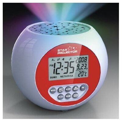 Lifemax Limited Lighting Star Projection Clock Relaxation Sound Machine
