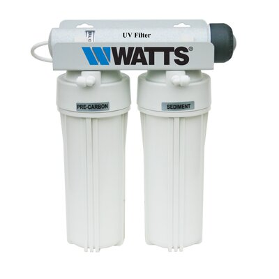 Watts Premier Three Stage Under Counter UV-R Filtration System