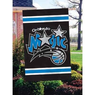 The Party Animal, Inc NBA Appliqué House Flag