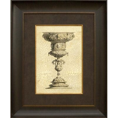 Phoenix Galleries Crackled Goblet II Framed Print