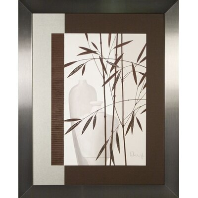 Phoenix Galleries Whispering Bamboo 3 Framed Print