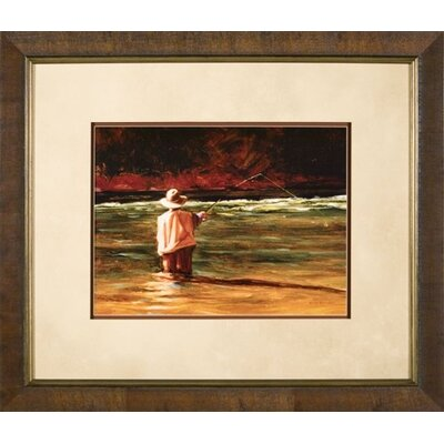 "Phoenix Galleries Mending the Drift Framed Print - 28""x 24"""