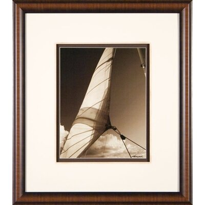 Phoenix Galleries Windward Sail 2 Framed Print