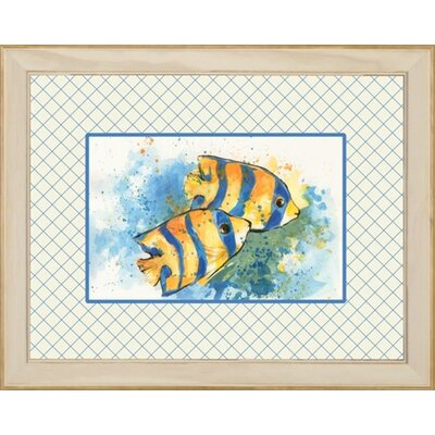 Phoenix Galleries Angel Fish 1 Framed Print