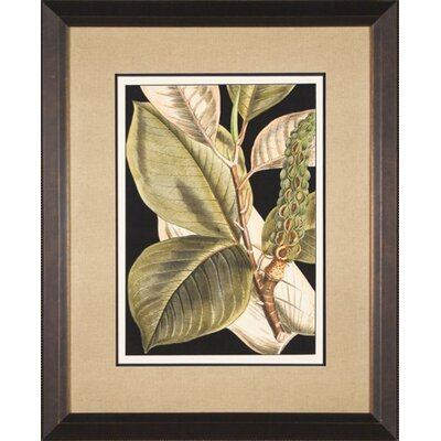 Tranquil Leaves 2 Framed Print
