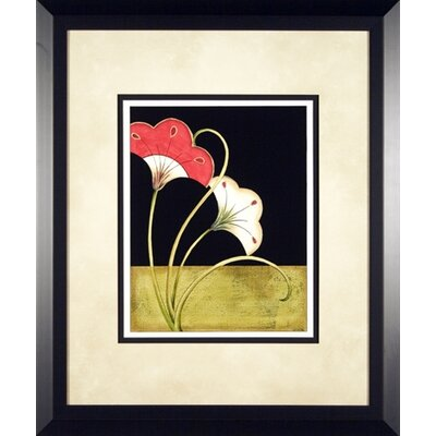 Phoenix Galleries Lotus Arabesque 4 Framed Print