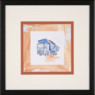 Phoenix Galleries Dump Truck Framed Print