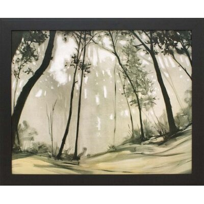 Black Forest Canvas Transfer Framed Print