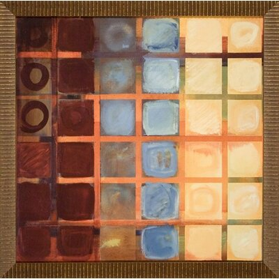 Cubed Canvas Transfer Framed Print