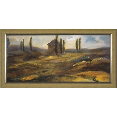 Up on the Hill Canvas Transfer Framed Print
