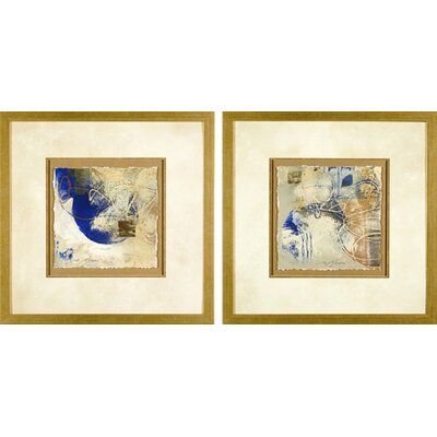 Phoenix Galleries Blue and Gold Framed Prints