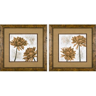 Phoenix Galleries White Washed Dahlia Framed Prints