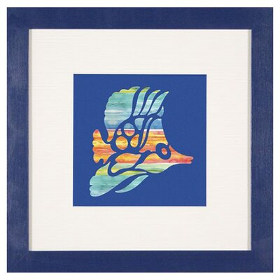 "<strong>Phoenix Galleries</strong> Tropical Fish 1 Framed Print - 24""x 24"""