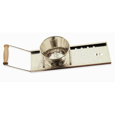 CucinaPro Sliding Spaetzel Maker with Wooden Handle