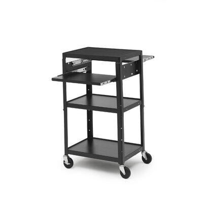 Bretford Manufacturing Inc Basic Adjustable Multimedia Cart