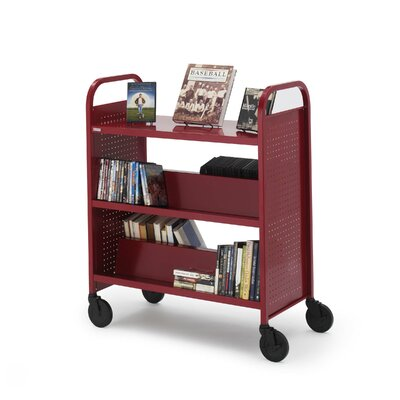Bretford Manufacturing Inc Voyager Series Book & Utility Truck with Flat Upper Shelf
