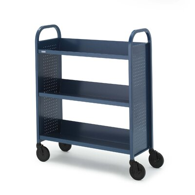 Bretford Manufacturing Inc Mobile Utility Truck with Three Slanted Shelves