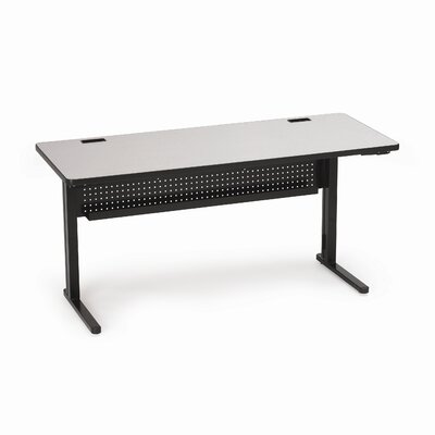 "Bretford Manufacturing Inc KR Rectangular 60"" x 24"" Folding Training Table"