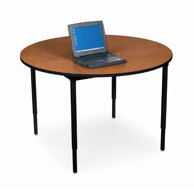 "Bretford Manufacturing Inc 42"" Diameter Round Quattro Work and Utility Table"