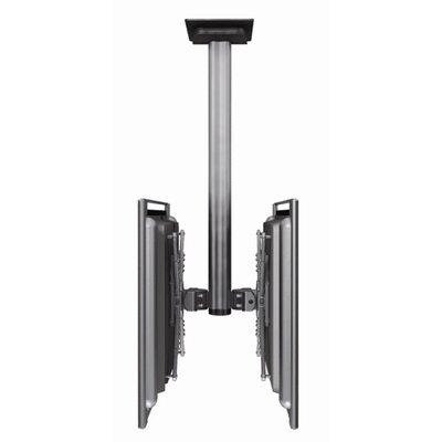 "Bretford Manufacturing Inc Dual Monitor Tilt Universal Ceiling Mount for 30"" - 60"" LCD/Plasma"