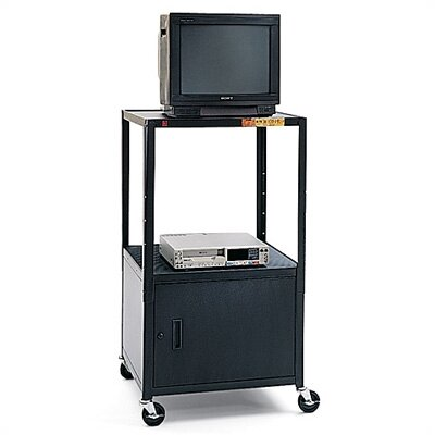 "Bretford Manufacturing Inc 36 - 54"" High UL Listed Adjustable Cabinet Cart"