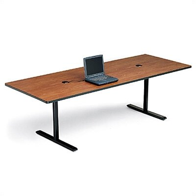 "Bretford Manufacturing Inc 42"" Deep Rectangle Conference Table - Two Grommet Holes"