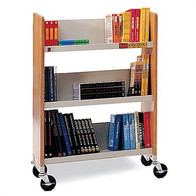 Bretford Manufacturing Inc Wood Slimline Booktruck