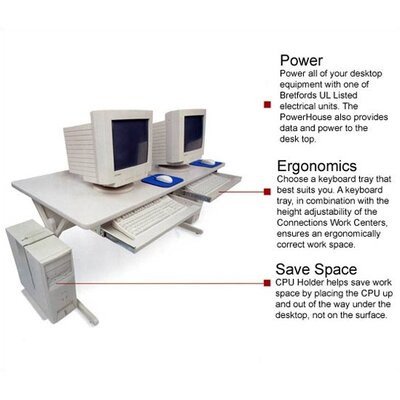 Bretford Manufacturing Inc Keyboard Drawer for Bretford UCS Model Desks