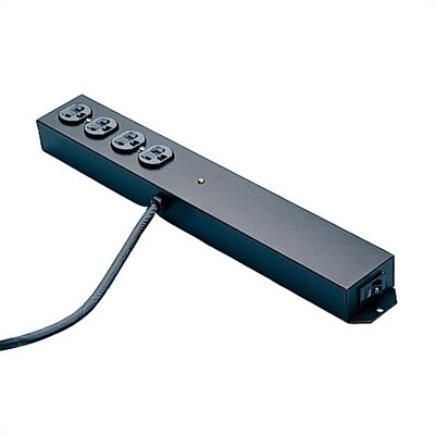 Bretford Manufacturing Inc Softwire Electrical Unit: Surge Protected Power Strip