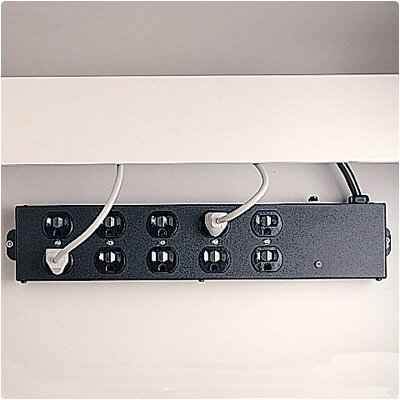 Bretford Manufacturing Inc Ten Outlet Electrical Unit