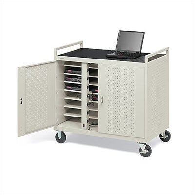Bretford Manufacturing Inc 124 Laptop Welded Computer Cart
