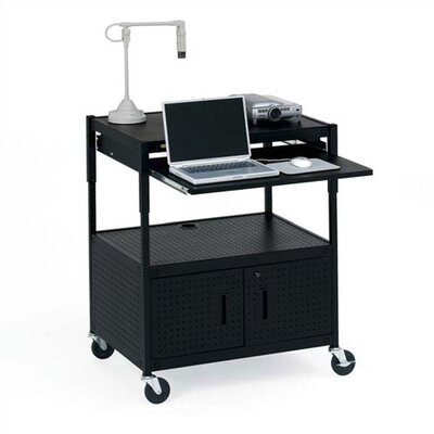 Bretford Manufacturing Inc Height Adjustable Multimedia Presentation Cart