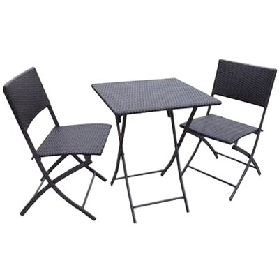<strong>DC America</strong> La Jolla Folding All Weather Bistro Table