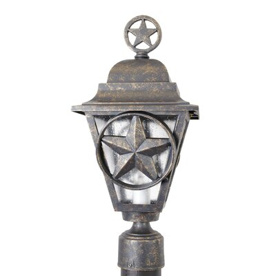 "Melissa Lighting Americana Lone Star Series 19"" Post Lantern"