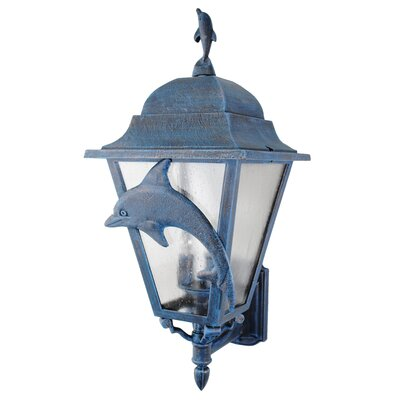 Melissa Lighting Americana Dolphin Series Wall Lantern