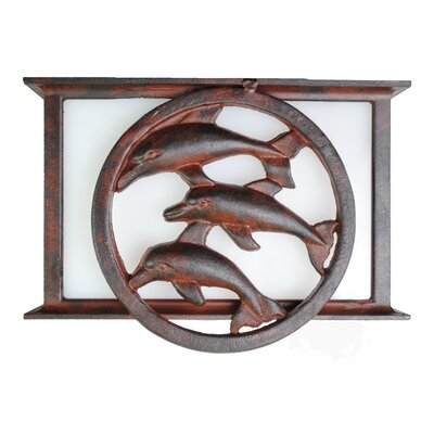 Melissa Lighting Americana Dolphin Series Flush Mount