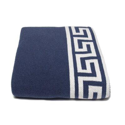 In2Green Eco Greek Key Throw Blanket