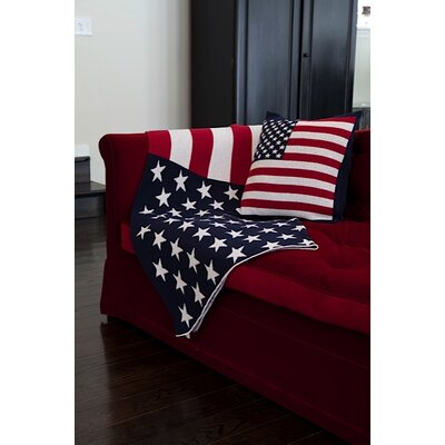 In2Green USA Flag Cotton Throw