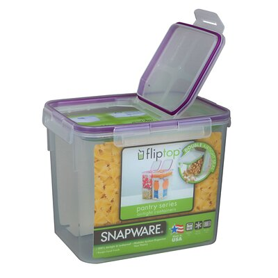 17 Cup Medium Flip Top Rectangular Storage Container