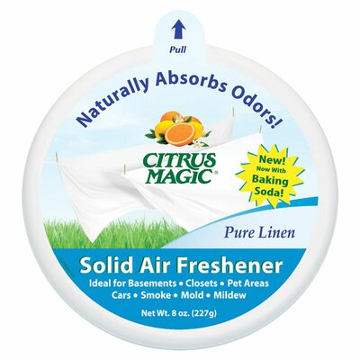 Trewax Citrus Magic Pure Linen Scented Air Freshener