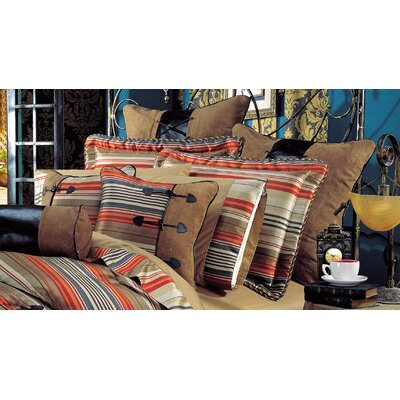 kathy ireland Home by Hallmart Hacienda Spice 10 Piece Comforter Set