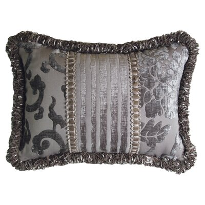 <strong>Jennifer Taylor</strong> La Rose Synthetic Pillow with Tassel Trim