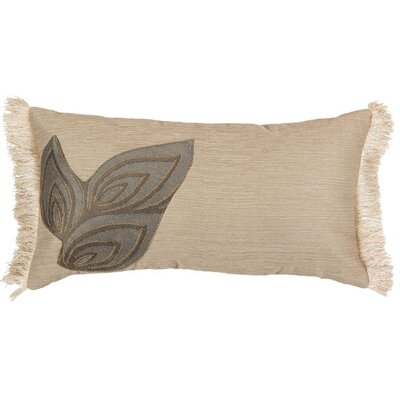 "Jennifer Taylor Biltmore 10"" x 18"" Pillow with Brush Fringes"